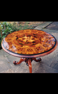 Ornate Wooden Table